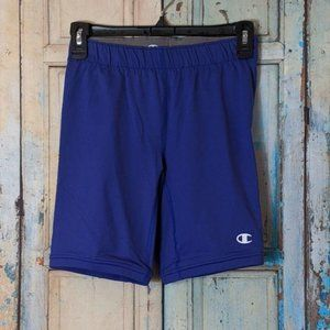 Champion Youth Small Blue Shorts Double Dry